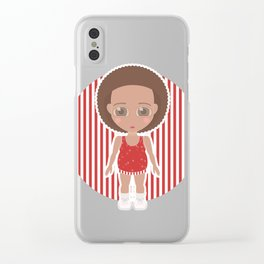 Richard Simmons Clear iPhone Case