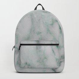 Ariana verde - smoky teal marble Backpack