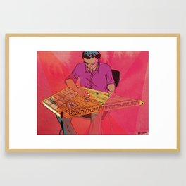 Kanun Player Framed Art Print