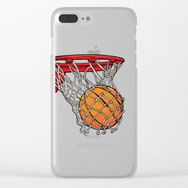 ball basket Clear iPhone Case