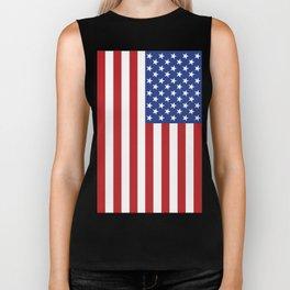 American Stars and Stripes Biker Tank