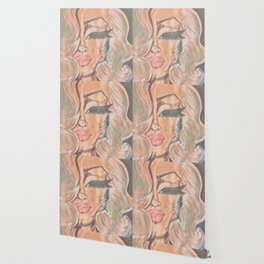 Marilyn Van-Gogh Wallpaper