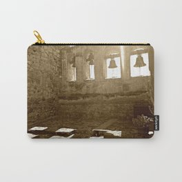 Sepia Bells at San Capistrano Carry-All Pouch