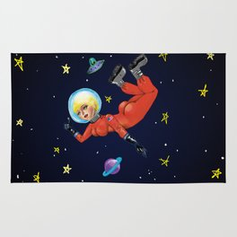 Space Babe Rug