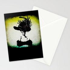mrs skeleton Stationery Cards
