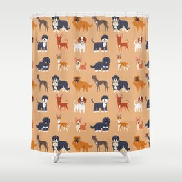 IBERIAN DOGS Shower Curtain