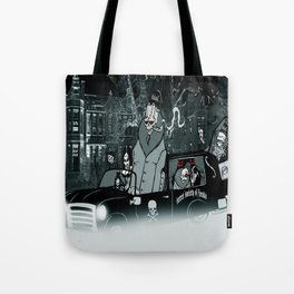 secret society of fiends Tote Bag
