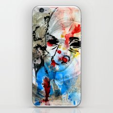 The Face Of The Saint iPhone Skin