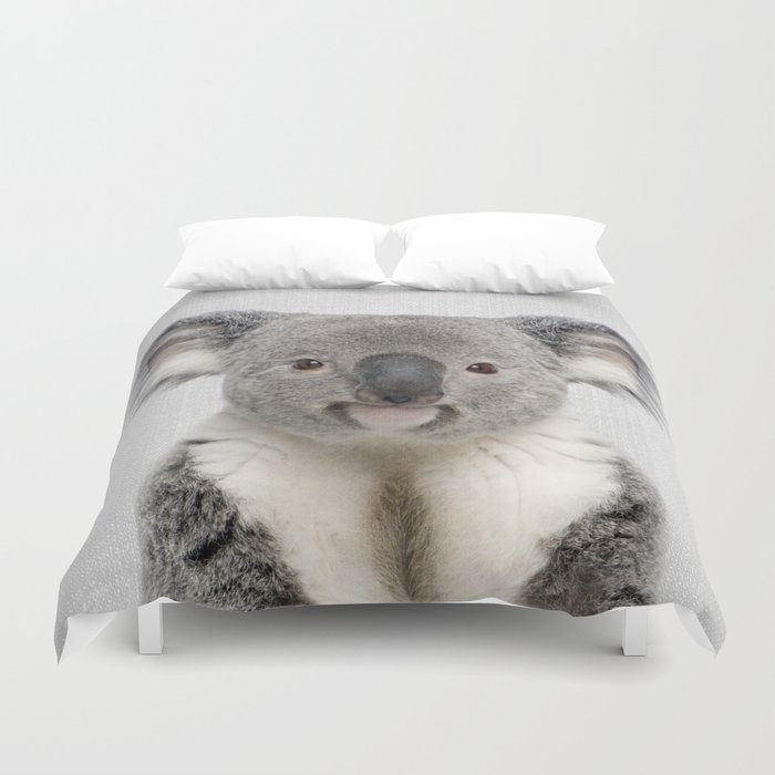 Koala 2 - Colorful Duvet Cover