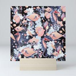 Tales of the Sea Pattern Mini Art Print