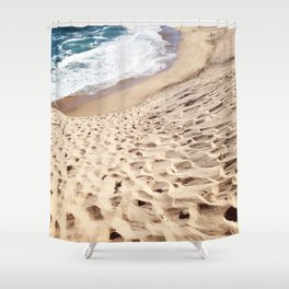 African Dune Beach Shower Curtain