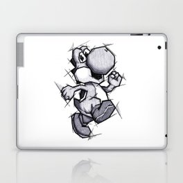 Yoshi Handmade Drawing, Games Art, Super Mario, Nintendo Art Laptop & iPad Skin