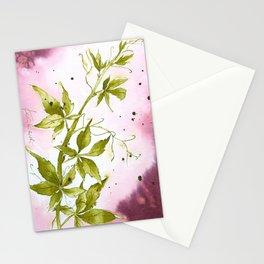 Autumn treasures - Virginia Creeper Stationery Cards