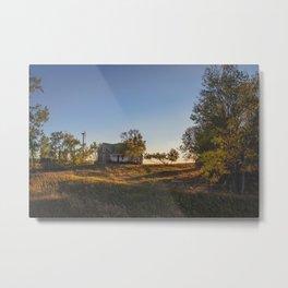 Abandoned Farmstead, North Dakota 1 Metal Print
