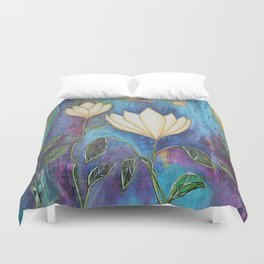 Love and Loss:Rebirth Duvet Cover