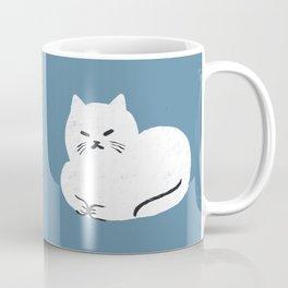 Comfy Cat WarmBlue Coffee Mug
