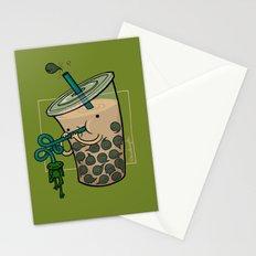 Food Series - Bubble Milk Tea Stationery Cards