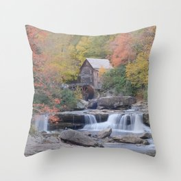 Almost Heaven Grist Mill Throw Pillow