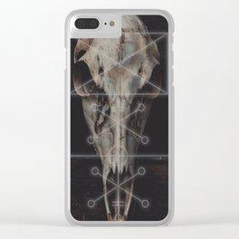 Icelandic Sigil Clear iPhone Case