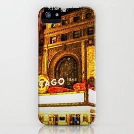 Chicago Theater Portrait No. 2 iPhone Case