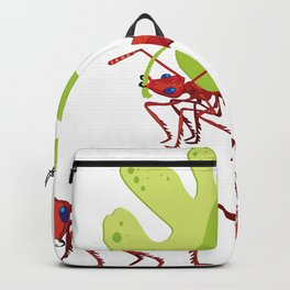 Red ants Backpack