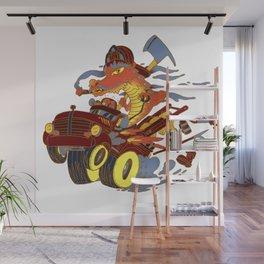 Fireslayer Wall Mural