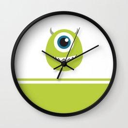 Monsters Inc. No. 8 Wall Clock