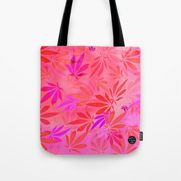 Blush Cannabis Swirl Tote Bag