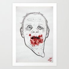 Ready when you are, Sergeant Pembry. // Silence of the Lambs Art Print