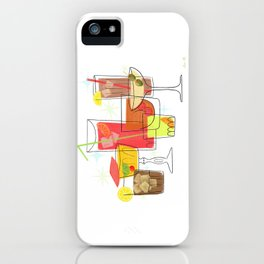 Swanky Summer Coolers iPhone Case