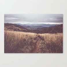 Bieszczady Mountains Canvas Print