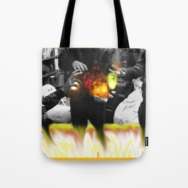 we gots That fire son! Tote Bag
