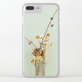 Bye Bye Daisys Clear iPhone Case