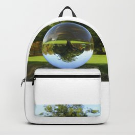 Old Park Tree, crystal ball / Glass Ball Photography Backpack