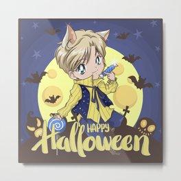 Happy Halloween Haruka Metal Print