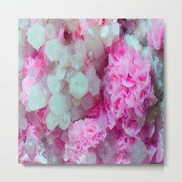 Desert Love Rose | Merry Crystals Metal Print