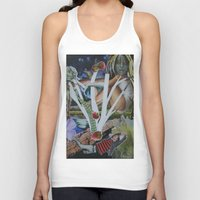 mythology Tank Tops featuring Pyramus & Thisbe Collage Mythology Romeo and Juliet by FountainheadLtd