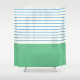 Narrabeen Stripe Shower Curtain
