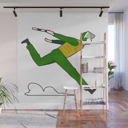Vietnamese cop running Wall Mural