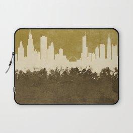 Chicago Illinois Skyline Laptop Sleeve