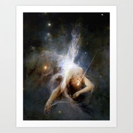 "Witold Pruszkowski ""Falling star"" Art Print"