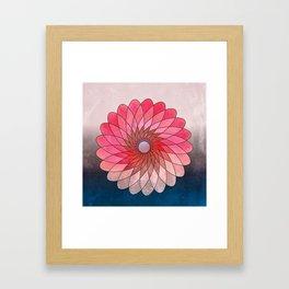 Pink shining gyro Framed Art Print