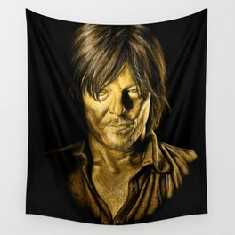 Daryl Golden Wall Tapestry