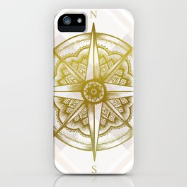 Golden Compass iPhone Case