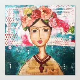 Coco's Closet - Inspired by Frida Canvas Print