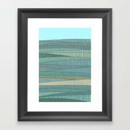 Summer Fields Framed Art Print