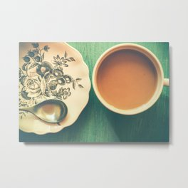 Wake Up Call Metal Print