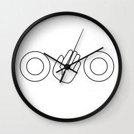 O-hi-O Wall Clock