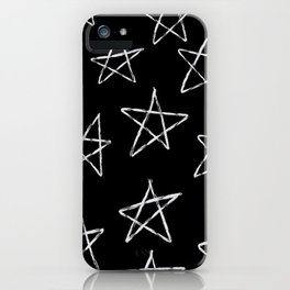 Black Star iPhone Case