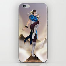 Strongest woman in the world! iPhone & iPod Skin
